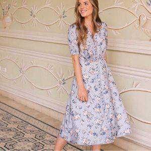 Floral Dress RESERVED @clothesnpoetry